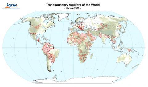 Transboundary Aquifers of the World Map 2009